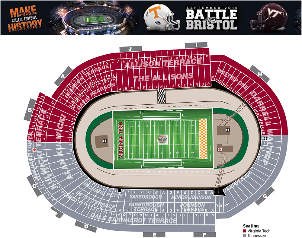 Bristol motor speedway seating chart rows impremedia net
